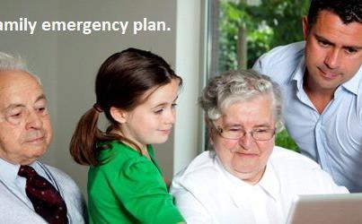 Photo: Use this form to make your family's emergency plan: http://1.usa.gov/TMncim   –Silje, healthfinder.gov