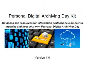Personal Digital Archiving Day Kit