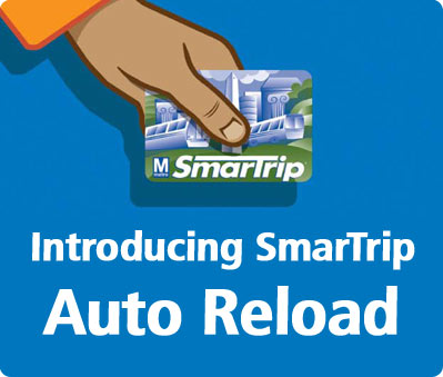 Introducing SmarTrip Auto Reload