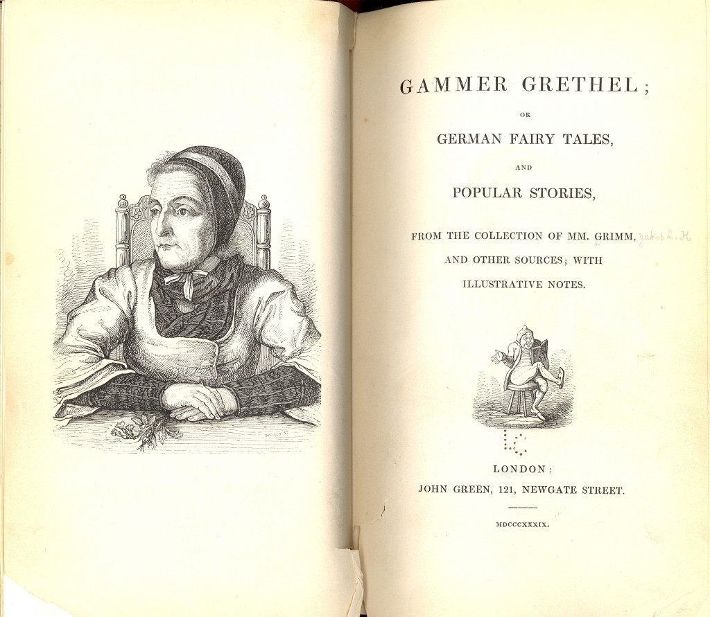 _Gammer Grethel_, Frontispiece and Title Page
