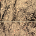 Map of the battle field of Gettysburg. July 1st, 2nd, 3rd, 1863