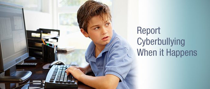 Report Cyberbullying When it Happens