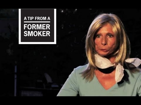 Terrie, diagnosed with throat and oral cancer, describes how her addiction to tobacco and cigarettes had her smoking right up to the front door of the hospital the day of her surgery, and what finally made her quit. This video is part of CDC's Tips From Former Smokers campaign.