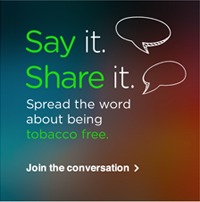 Say it. Share it.