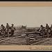 """Three """"Johnnie Reb"""" Prisoners, captured at Gettysburg, 1863 (LOC)"""