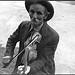 Fiddlin' Bill Hensley, mountain fiddler, Asheville, North Carolina (LOC)