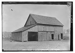 Jones Barn where dynamite was found (LOC)
