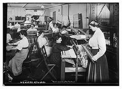 Weavers at work (LOC)