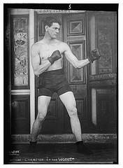 Jimmy Clabby. Boxing (LOC)