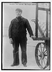 """Young """"Cy"""" Young [Irv Young] between seasons  (LOC)"""