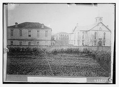 Kiukiang Institute, Central China Mission. General view taken from City Wall. (LOC)