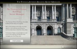The Thomas Jefferson Building: Secret Messages