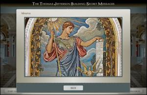 Explore the symbolism of the Minverva mosaic