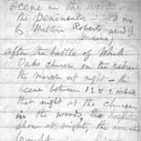 Hospital Notebook: After the battle at White Oaks Church (notebook #101, p.2)