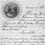 Letter from Orlando Gray to Juliana Smith Reynolds, November 29, 1861