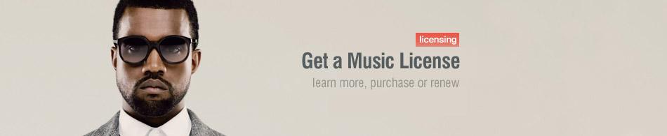 Get a Music License
