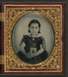 Unidentified Girl in Mourning Dress . . . .