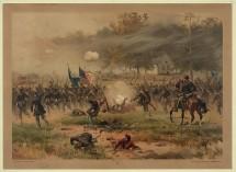 Battle of Antietam. Chromolithograph by Prang, 1887. http://hdl.loc.gov/loc.pnp/pga.04031