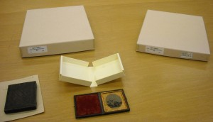 "Items from LOT 14020 ""History of photography study samples"""