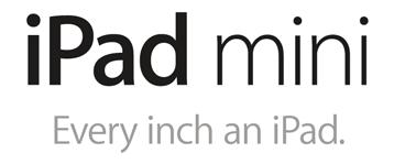 iPad mini. Every inch an iPad.
