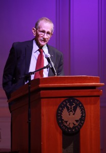 Philip Levine reads his poetry at the Library of Congress, October 17, 2011