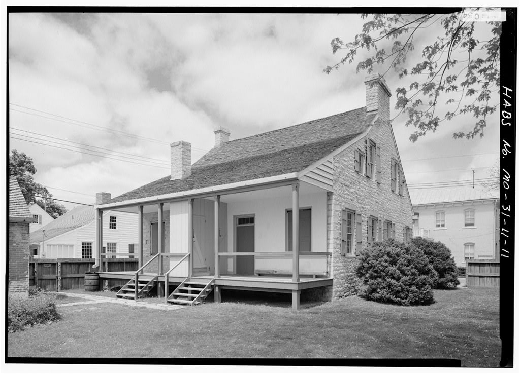Felix & Odile Pratt Valle House, Sainte Genevieve, MO. Photo by Jack E. Boucher, 1986. http://hdl.loc.gov/loc.pnp/hhh.mo0125/photos.099825p