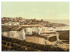 [From the cliffs, Broadstairs, England]  (LOC)