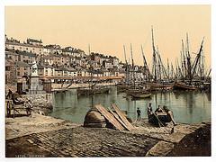 [From the Harbor, Brixham, England]  (LOC)