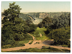 [River Avon from Clifton Downs, Bristol, England]  (LOC)