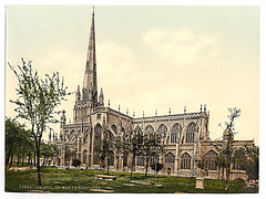 [St. Mary Radcliffe, Bristol, England]  (LOC)