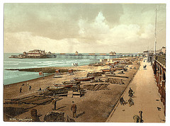 [The Pier from the east, Brighton, England]  (LOC)