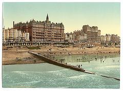 [From the pier, Brighton, England]  (LOC)