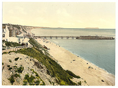 [From the West Cliff, Bournemouth, England]  (LOC)