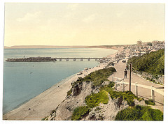[From the East Cliff, Bournemouth, England]  (LOC)