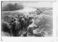 German Trenches on the Aisne  (LOC)