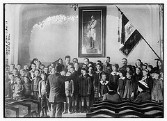 Brussels -- German Music class in Assembly Hall  (LOC)