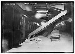 Mail chute, Grand Central  (LOC)