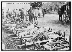 Wounded at Field Hospital on the Isonzo  (LOC)