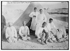 Frl. Dr. Koch and Assistants, Palestine  (LOC)