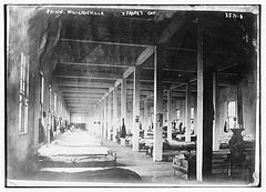 Prison, Milledgeville -- Frank's cot  (LOC)