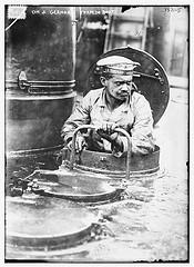 On a German Torpedo Boat  (LOC)
