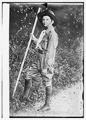 Crown Prince of Italy as Boy Scout  (LOC)