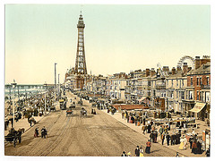 [The Promenade, Blackpool, England]  (LOC)