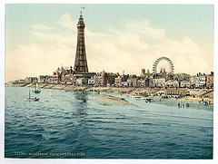[From Central Pier, Blackpool, England]  (LOC)