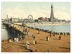 [From North Pier, Blackpool, England]  (LOC)
