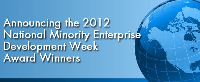 Announcing the 2012 National MED Week Award Winners