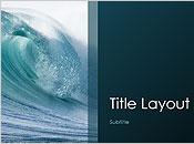 Ocean waves design presentation
