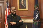 Deputy Public Printer Davita Vance-Cooks became Acting Public Printer of GPO on January 3, 2012. She is the first female to lead GPO since the agency opened in 1861.