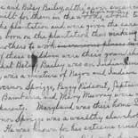 Frederick Douglass's genealogical notes, n.d. Autograph manuscript.