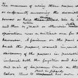 Chapter from Frederick Douglass's autobiography, Life and Times of Frederick Douglass, recounting his escape from slavery, ca. 1880.